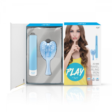 PLAY by TUFT 25mm Travel Curling Iron