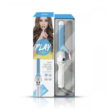 PLAY by TUFT 28mm Digital Curling Iron